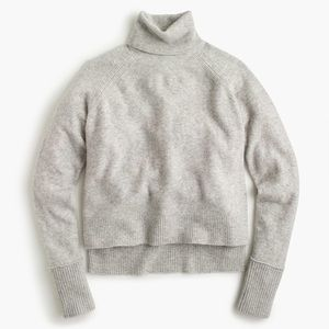 J Crew Turtleneck Sweater in Supersoft Yarn Med/Lg